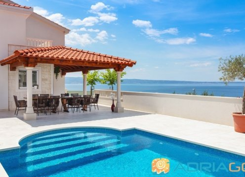 Beach villa in Podstrana (Split, Croatia)